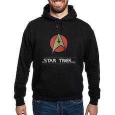 Vintage Star Trek Dark Hoodie