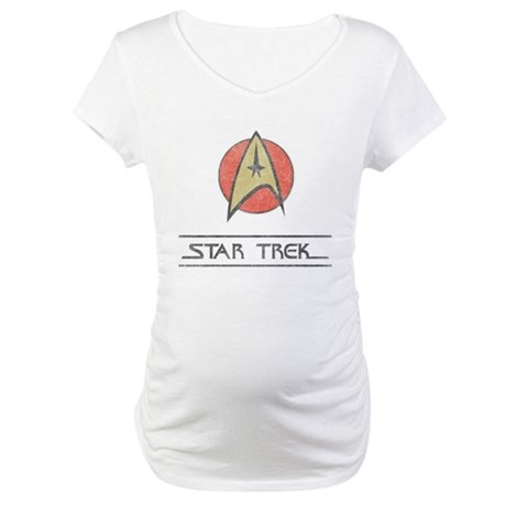 Vintage Star Trek Maternity T-Shirt
