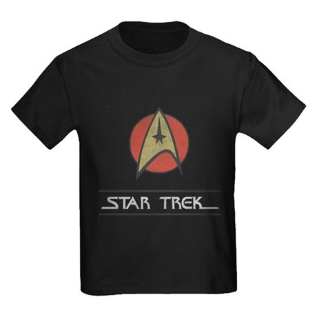 Vintage Star Trek Kids T-Shirt