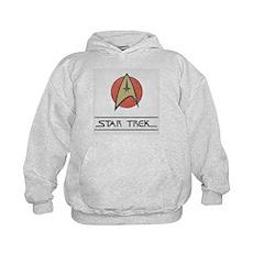 Vintage Star Trek Kids Hoodie