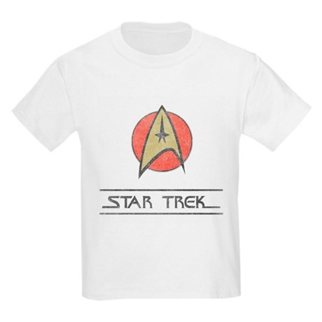 Vintage Star Trek Kids Light T-Shirt