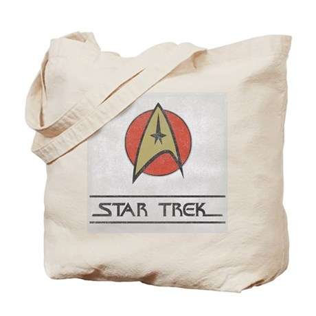 Vintage Star Trek Tote Bag
