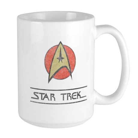 Vintage Star Trek Large Mug