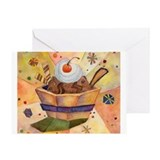Cute  summer Greeting Card