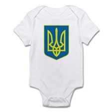 Ukraine Coat of Arms Infant Creeper
