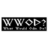 WWOD Bumper Car Sticker