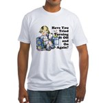 Funny IT Fitted T-Shirt