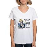 Funny IT Women's V-Neck T-Shirt