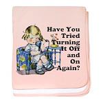 Funny IT Infant Blanket