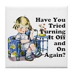 Funny IT Tile Coaster