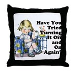 Funny IT Throw Pillow