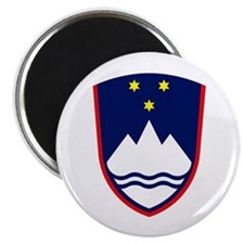 "Slovenia Coat of Arms 2.25"" Magnet (10 pack)"