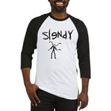 Slender Man Baseball Jersey
