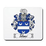 Tolomei Family Crest Mousepad
