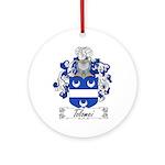 Tolomei Family Crest Ornament (Round)