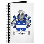 Tolomei Family Crest Journal