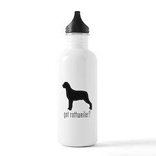 Rottweiler 2 Water Bottle