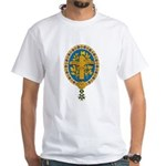 French Coat of Arms White T-Shirt