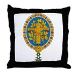 French Coat of Arms Throw Pillow