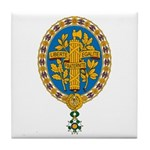 French Coat of Arms Tile Coaster