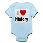 I Love History Infant Creeper