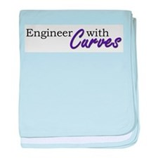 Engineer with Curves Infant Blanket