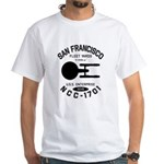 San Francisco Fleet Yards White T-Shirt