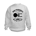 San Francisco Fleet Yards Kids Sweatshirt