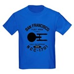 San Francisco Fleet Yards Kids Dark T-Shirt