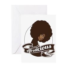 Afrolicious Greeting Card