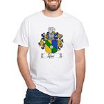 Tofani Family Crest White T-Shirt