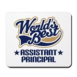 Worlds Best Assistant Principal Mousepad