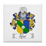 Tofani Family Crest Tile Coaster