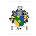 Tofani Family Crest Postcards (Package of 8)