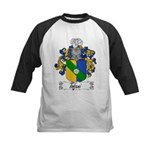 Tofani Family Crest Kids Baseball Jersey