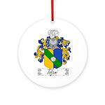 Tofani Family Crest Ornament (Round)
