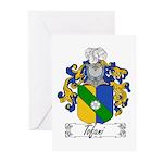 Tofani Family Crest Greeting Cards (Pk of 10)