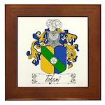 Tofani Family Crest Framed Tile