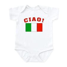 Ciao Italia Italy flag Infant Creeper
