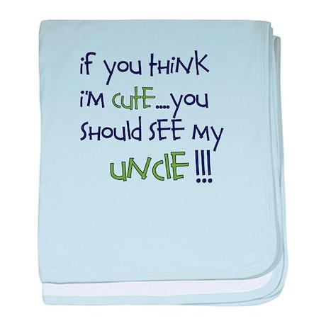 Uncle Infant Blanket
