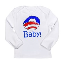 Obama Baby! Long Sleeve Infant T-Shirt