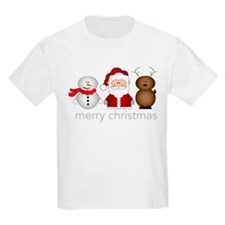 Merry Christmas Characters T-Shirt
