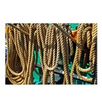 USS Constitution - Ropes for Postcards (Package of