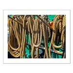 USS Constitution - Ropes for Small Poster