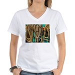 USS Constitution - Ropes for Women's V-Neck T-Shir
