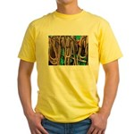 USS Constitution - Ropes for Yellow T-Shirt