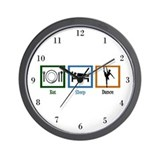 Eat Sleep Dance Wall Clock