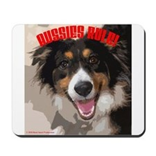 Aussies Rule! Mousepad