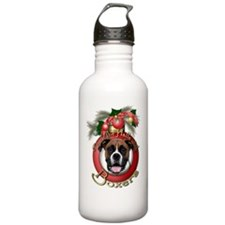 Christmas - Deck the Halls - Boxers Water Bottle