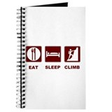eat sleep climb Journal